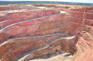 Cobar Open Cut Gold Mine
