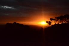 Eucla Sunset across the Nullarbor